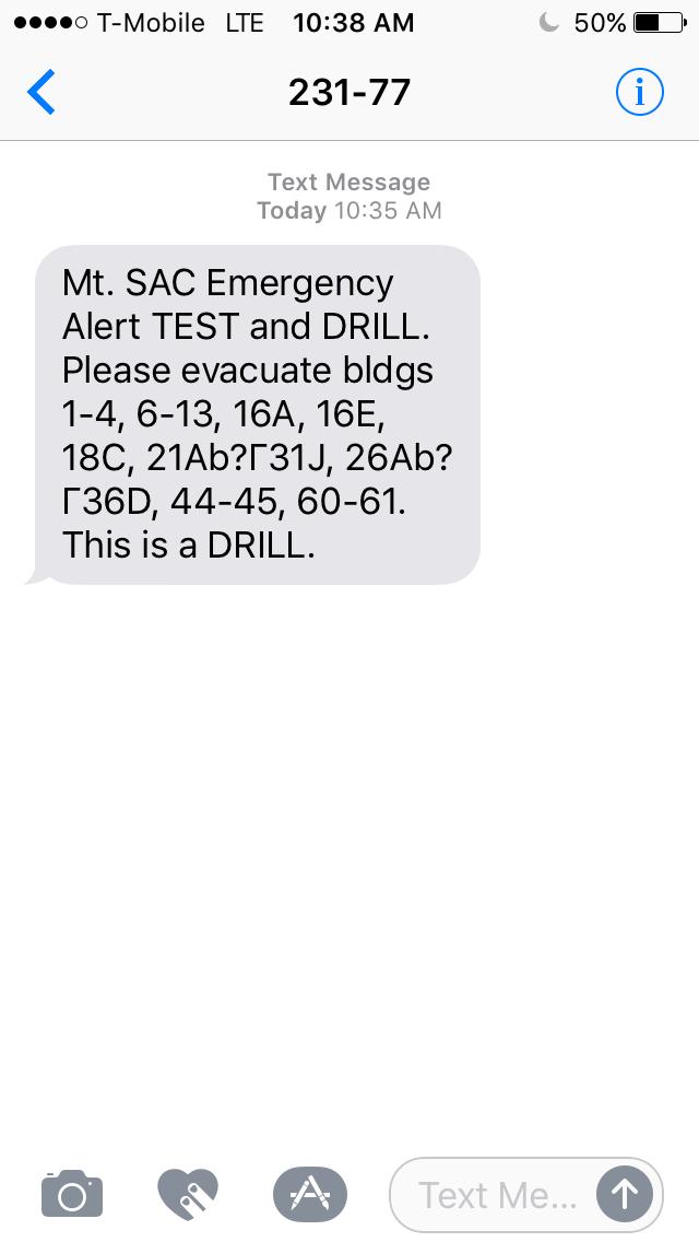 Drill Student Side Error | 10/10/19