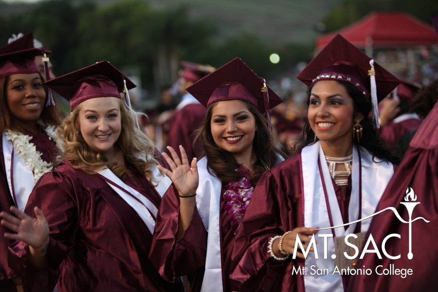 Will graduates walk at the end of Spring 2020? Photo Courtesy: Mt. SAC Marketing Department.