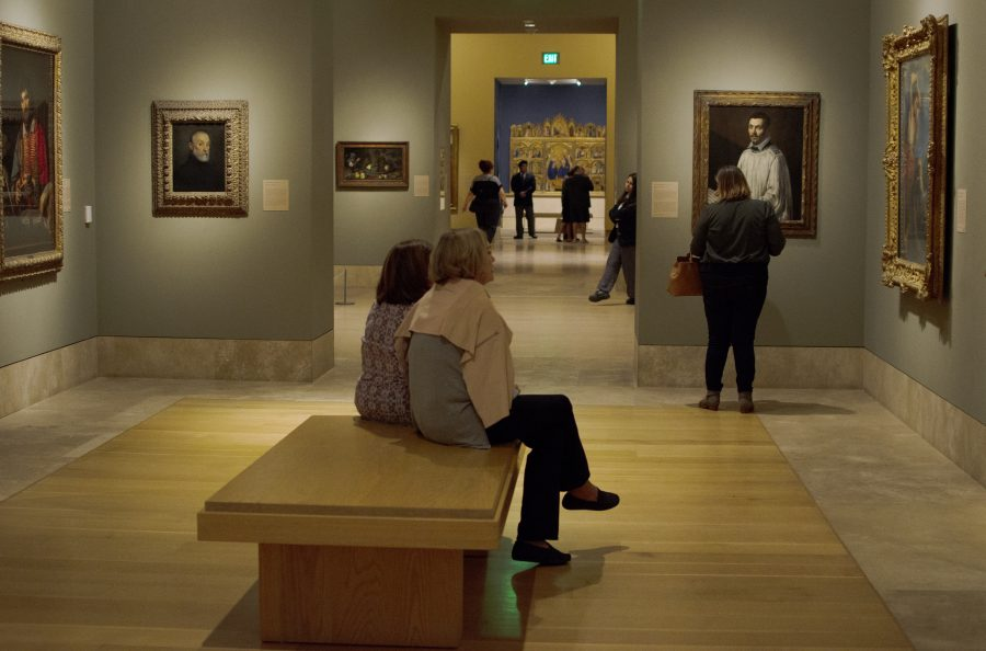 Visitors enjoy a free admission to Norton Simon Museum and 18 other venues during Art Night in Pasadena on Friday, Oct. 12. Photo Credit: Hernandez Coke/SAC.Media