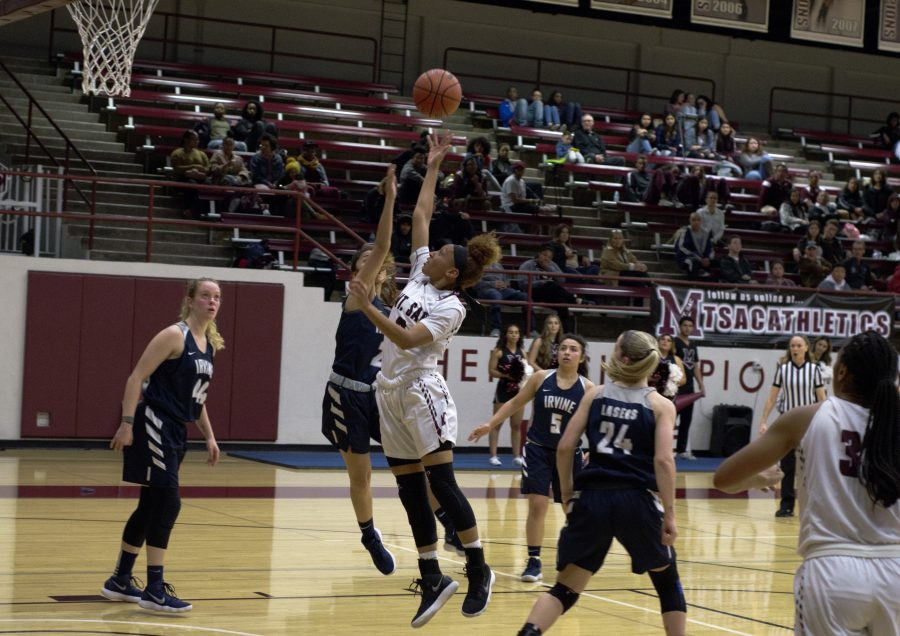Mt.Sac Women's Basketball 71-76 loss to Irvine Valley College in single game elimination on Saturday, Mar. 3 Photo Credit: Hernandez Coke/Sac.Media