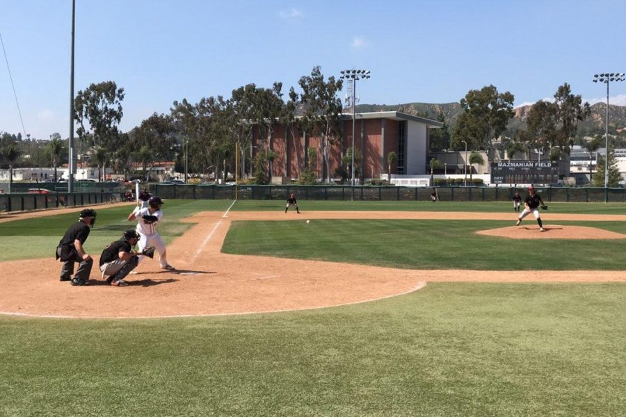 Mt.+SAC+Baseball+at-bat+against+Chaffey+College+at+Mazmanian+Field+on+Saturday%2C+April+7.+Photo+Credit%3A+Jesse+Lopez%2FSAC.Media