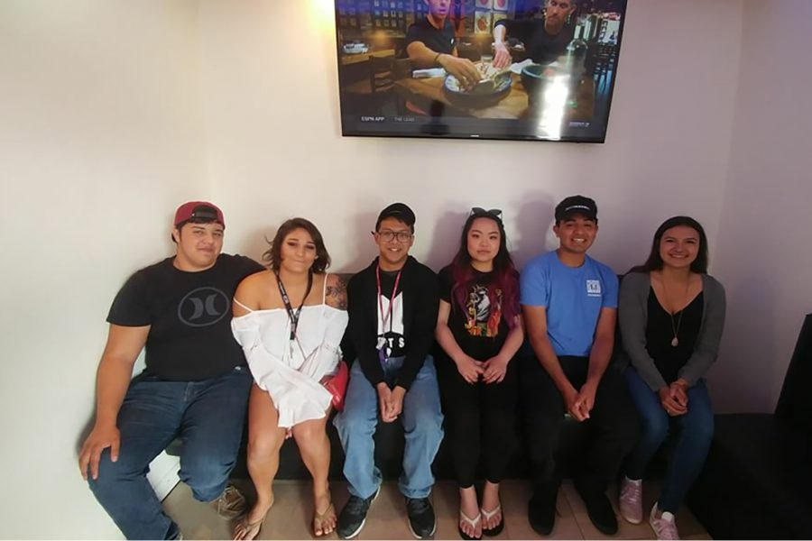 Mt. SAC Best Buddies officer board from left to right, Diego Nadaya, Christina Nunez, Lawrence Castillo, Brittany Yuen, Gregory Nunez and Samantha Sebedra.
