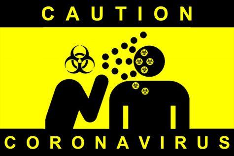 Caution Coronavirus. Photo Illustration: Leni Santos/SAC.Media.