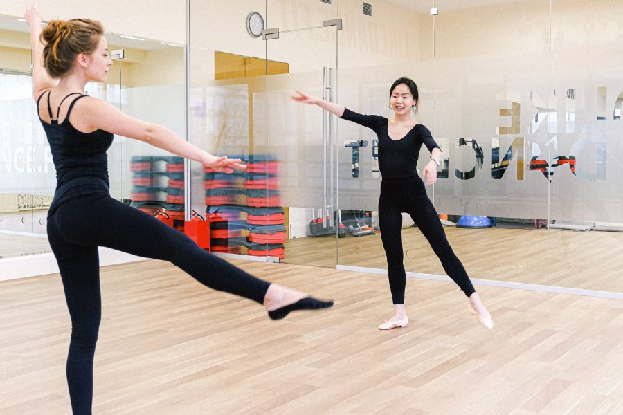 Students in dance classes may be granted repeatability so they can enroll in the course in-person. Photo by Anna Shvets from Pexels.