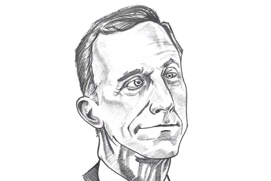 Illustration of former U.S. House of Representative Tim Murphy. Illustration credit: Adam Valenzuela/ SAC.Media.
