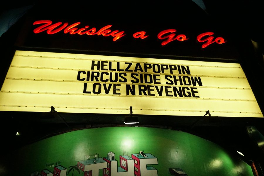 Whisky a Go Go host Hellzapoppin Circus Sideshow in West Hollywood on Sunday, Nov. 18. Photo Credit Andy Lizarraga/SAC.Media