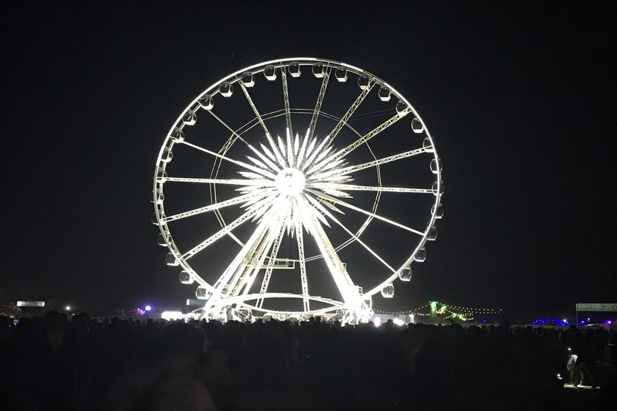 Coachella Feriss Wheel on Sunday, April 22 during Coachella valley Music and Arts Festival in Indio, Calif. Photo Credit: Hernandez Coke/SAC.Media