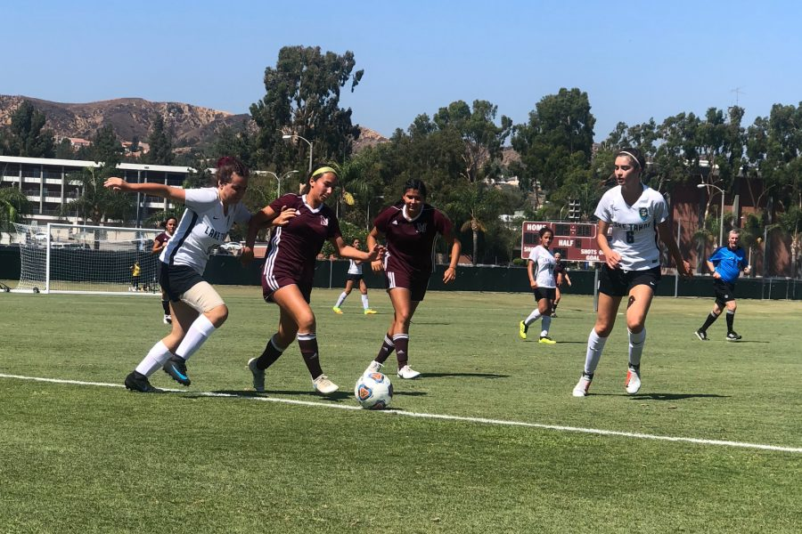 Mt.+SAC+Women%27s+Soccer+versus+Lake+Tahoe+College+at+home+on+Friday%2C+Aug.+31.+Photo+Credit%3A+Paul+Magdaleno%2FSAC.Media