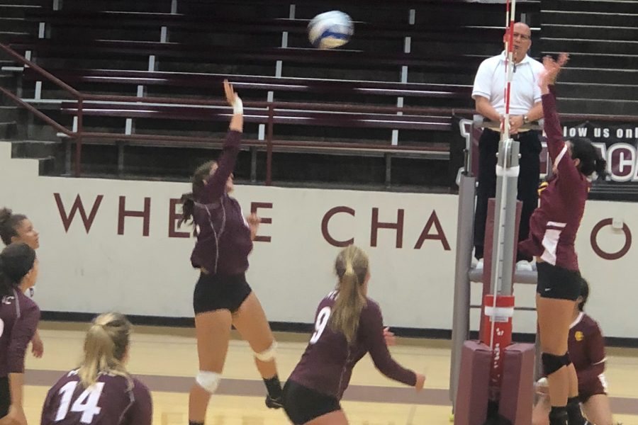 Mt.+SAC+Volleyball+versus+Glendale+College+at+home+on+Wednesday%2C+Sept.+5.+Photo+Credit%3A+Paul+Magdaleno%2FSAC.Media