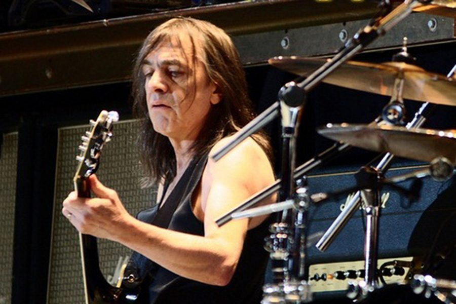 Malcolm Young in 2010. Photo from Creative Commons.