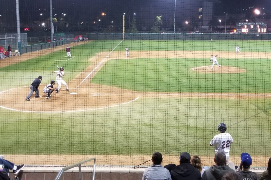 Mt.+SAC+Baseball+batting+at+Mazmanian+Field+on+Feb.+1.+Photo+Credit%3A+John+Athan