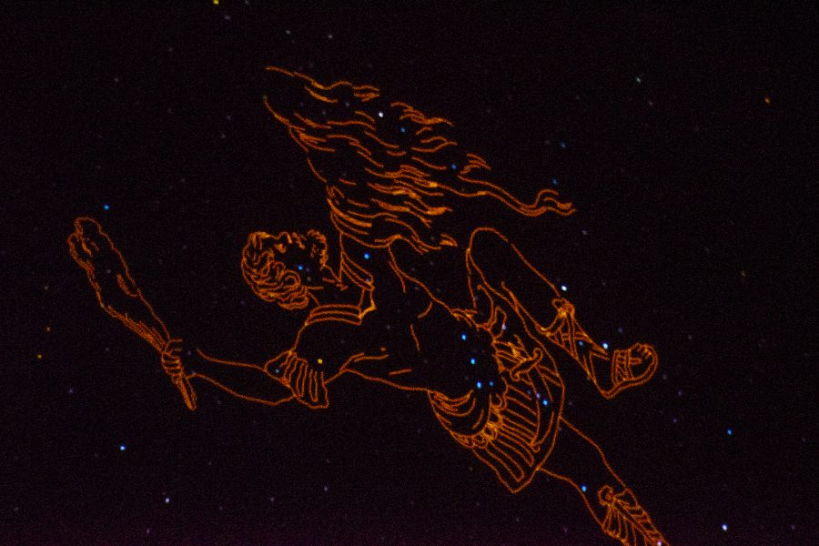 Orion+constellation+appears+overhead+on+the+planetarium%E2%80%99s+dome+during+Mt.+SAC+Randal+Planetarium+50+year+celebration+in+BLDG.+26C+on+Saturday%2C+Nov.+10.+Photo+Credit%3A+Hernandez+Coke%2FSAC.Media