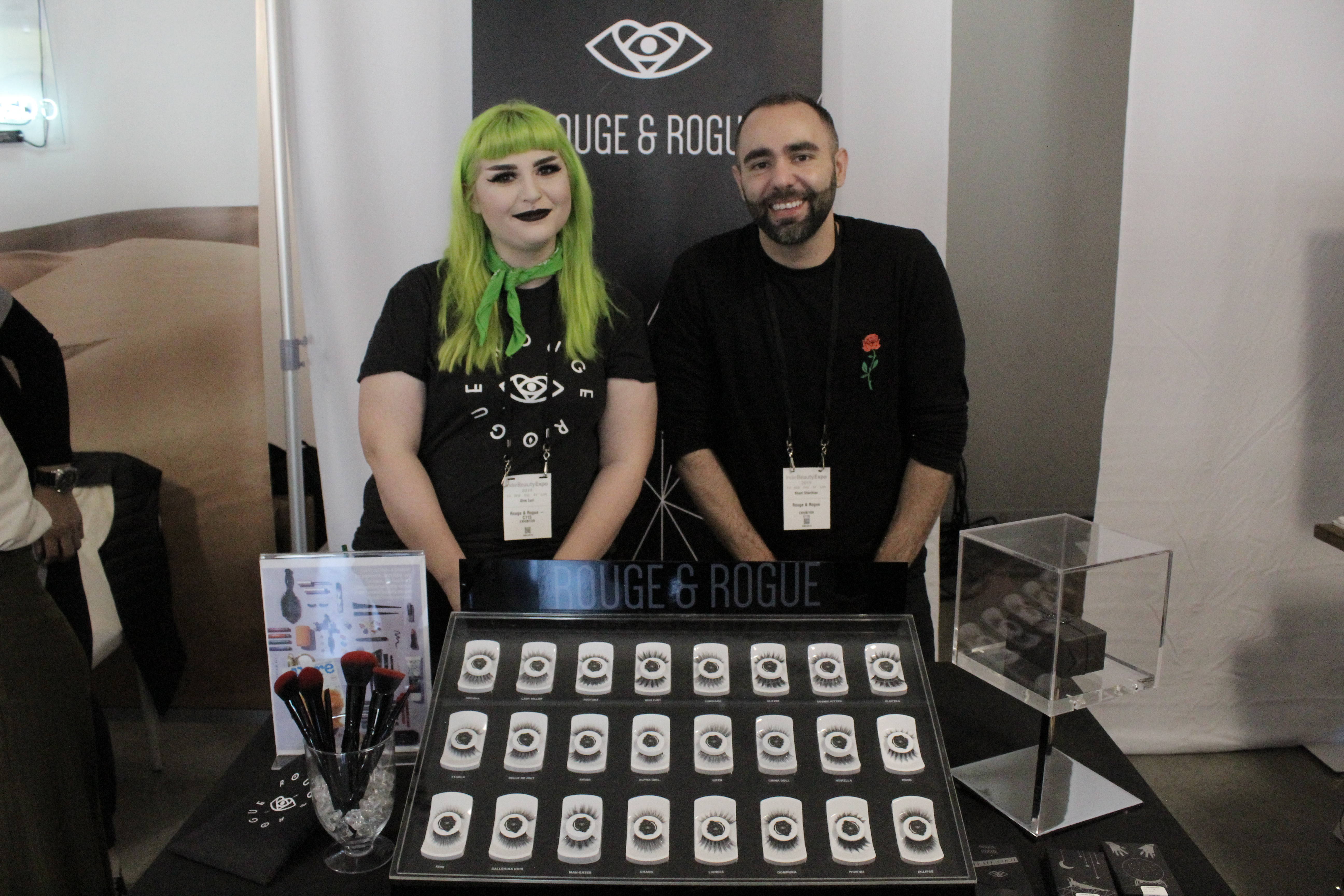 Rouge and Rogue at Indie Beauty Expo