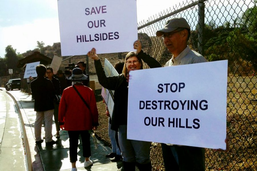 Protesters Suggest Mt. SAC Receive an 'F' in Community Relations