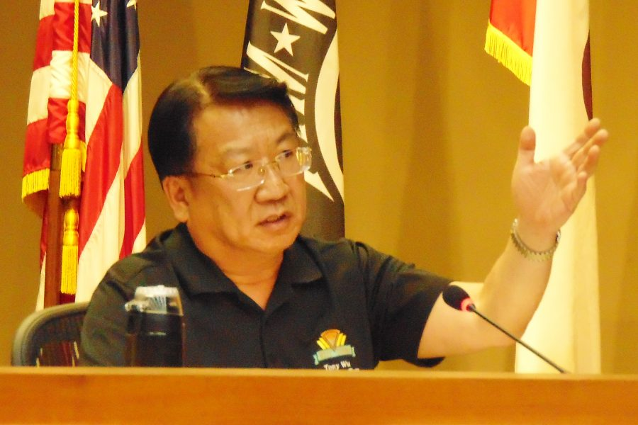 Mayor+Pro+Tem+Tony+Wu+spoke+against+the+budget+proposal+and+in+favor+of+cutting+down+on+overtime.+Photo+Credit%3A+Joshua+Sanchez%2FSAC.Media.