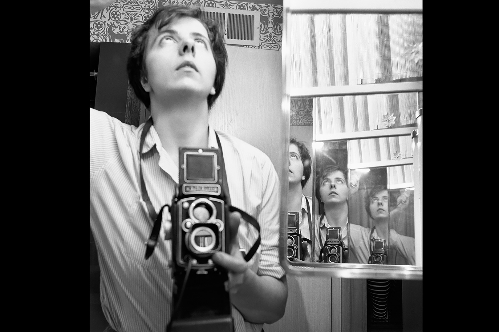 Self Portrait. Vivian Maier, 1956.