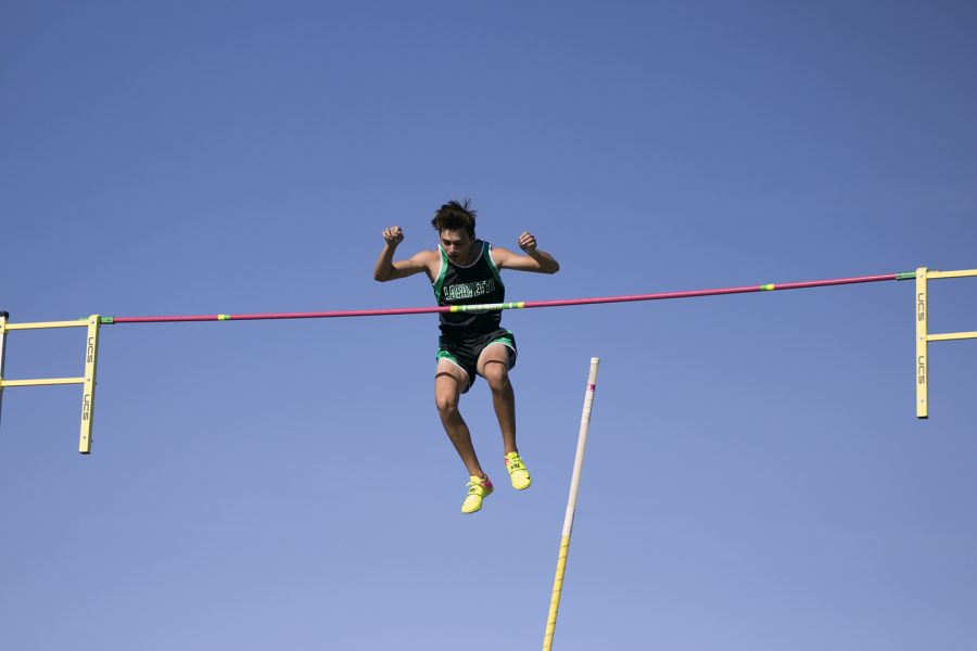 Armand Duplantis during an event at Mt. SAC Relays. Luis Olguin/SAConScene