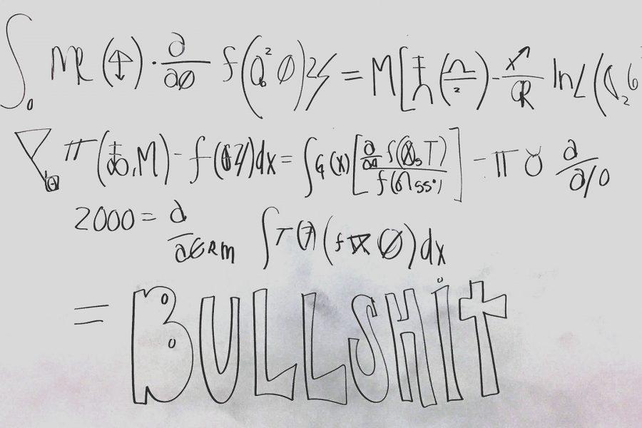 Math is Bullshit
