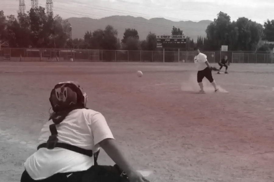 Jackie and Jessica Olvera practicing at John F. Kennedy High School in Granada Hills, California. Photo Credit: Jackie Olvera/Jessica Olvera
