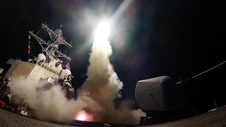 Trump Bombs Syria
