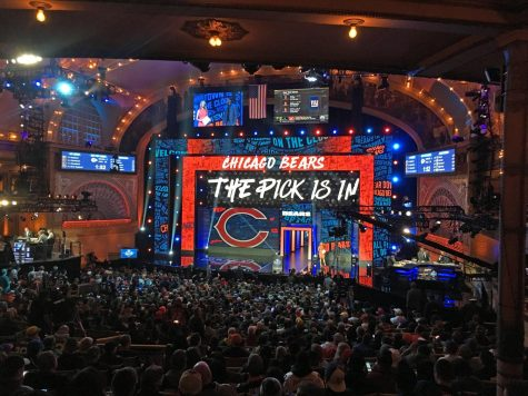 Photo courtesy of swimfinfan from Chicago - NFL Draft, Chicago 2016, CC BY-SA 2.0.  https://commons.wikimedia.org/w/index.php?curid=65731262