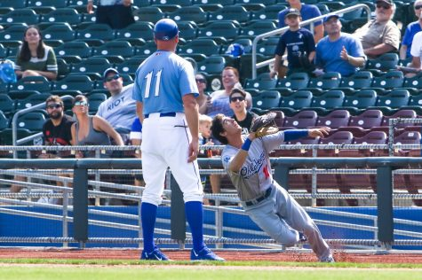 By Minda Haas Kuhlmann from Omaha - Cody Bellinger trying to catch a foul pop., CC BY 2.0, https://commons.wikimedia.org/w/index.php?curid=62060761