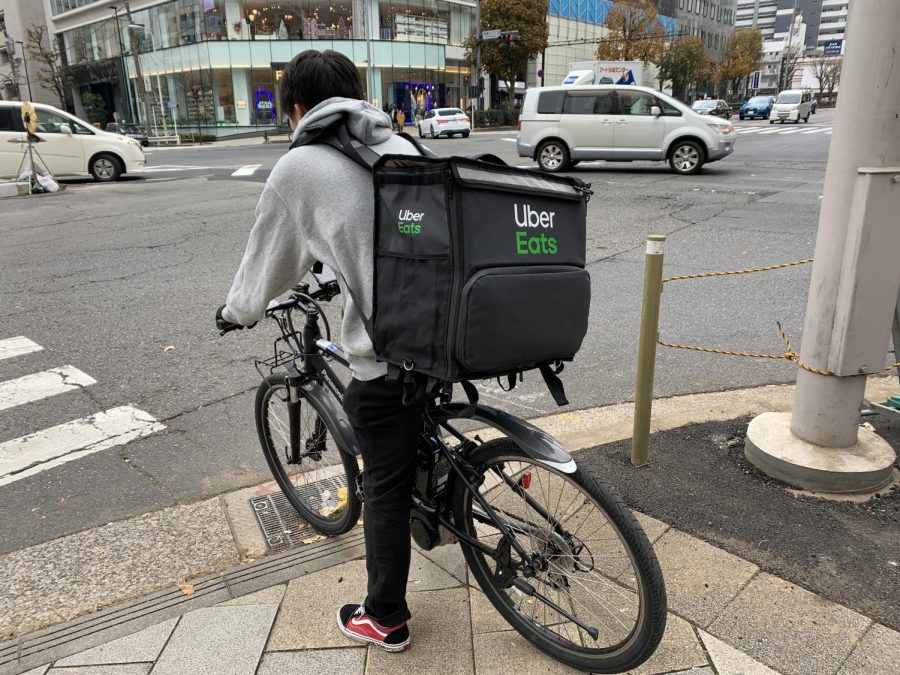 By Yuya Tamai from Chiba, Japan - Uber Eats bicycle