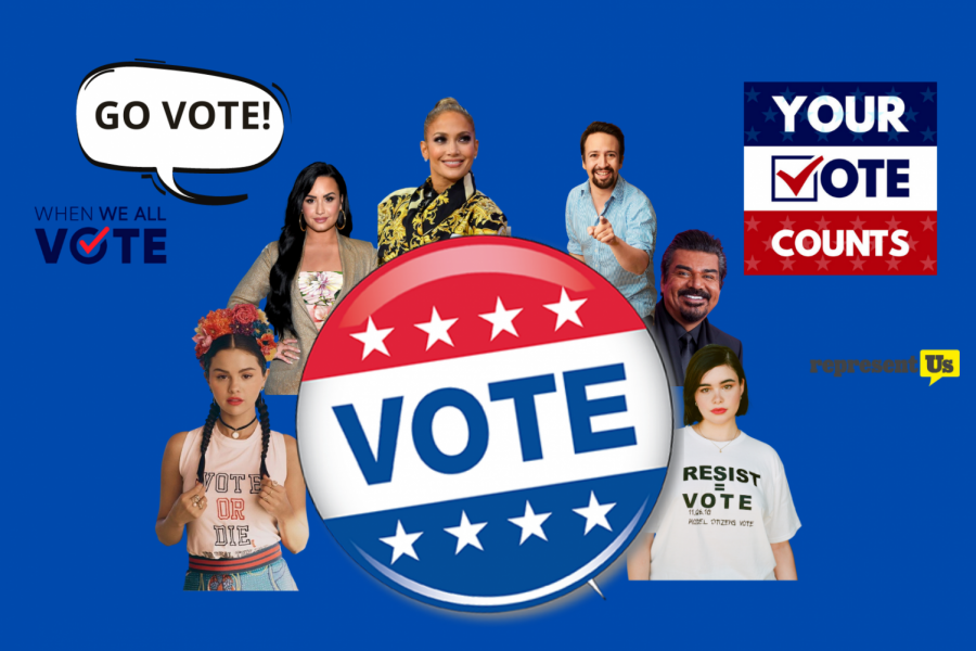 Your Favorite Latinx Celebs want you to vote