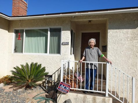 Ann Inouye outside of her home in Los Angeles, CA. Photo by Monica Inouye/SAC.Media.