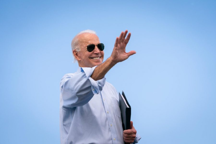 Joe Biden at drive-in rally at Broward college posted by Adam Schultz on Filickr.