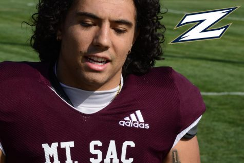 Mt. SAC defensive back Colin Keanu commits to the University of Akron. Photo Credit: SAC Media/ SAC Sidelines @SACSidelines