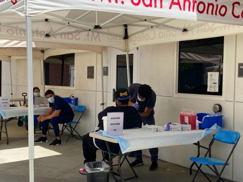 Vaccine Clinics Being Held at Mt. SAC