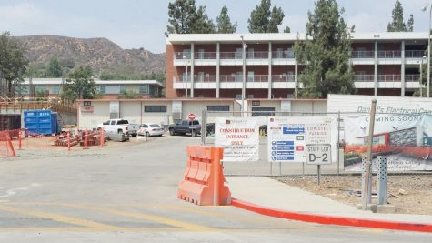 Staff Lot D-2 remains under construction by Tilden-Coil as of Aug. 18.