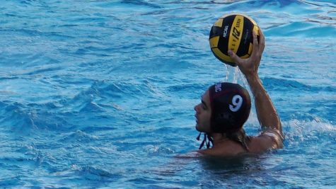 Diego Lopez (9) sets up a pass to put the Mounties in scoring position.