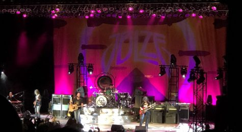 With Jason Bonham on drums, Jimmy Sakuri on guitar, James Dylan on vocals, and Dorian on bass, the band rocked the Greek Theatre with Led Zeppelin covers on Oct. 21.